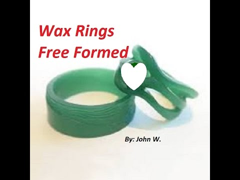 Free forming Jewelry wax ring