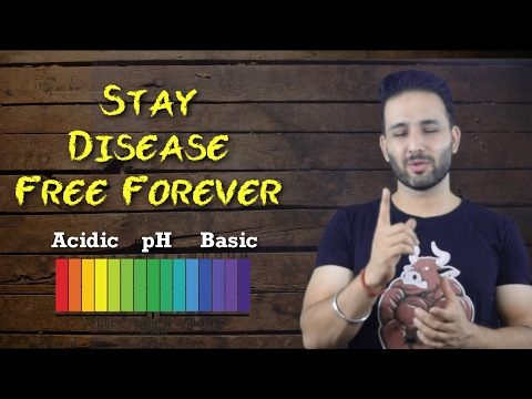 Know if your Body is Acidic or Basic | The pH way to see foods | Hindi