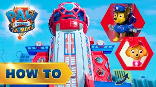 PAW Patrol: The Movie | Ultimate City Tower - How To Build | PAW Patrol Official & Friends