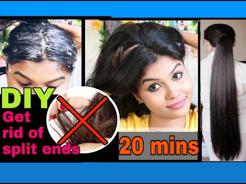 Get rid of dry & damaged hair | split ends in just 20 mins | Ishita Chanda