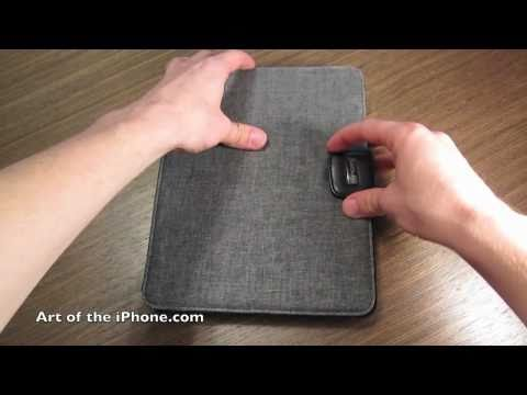 Review of JAVOedge Charcoal Axis iPad Case
