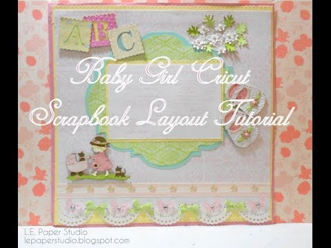 Cricut Layouts Baby Boy Two Page Layout Baby Scrapbook Ideas With