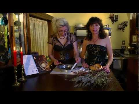 How to Make Spirit Candles with Herbs