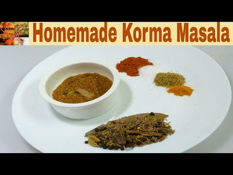 Homemade Korma Masala Powder Recipe_Eid al Adha Preparation Special Recipes(Shaz Kitchen)