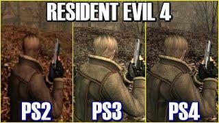 Resident Evil 4 | GC VS PS2 VS Wii VS PS3 VS PS4 VS 360 VS ONE VS PC | All Versions Comparison
