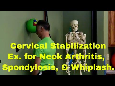 Cervical Stabilization Exercises For Neck Arthritis, Spondylosis, Whiplash, Etc.