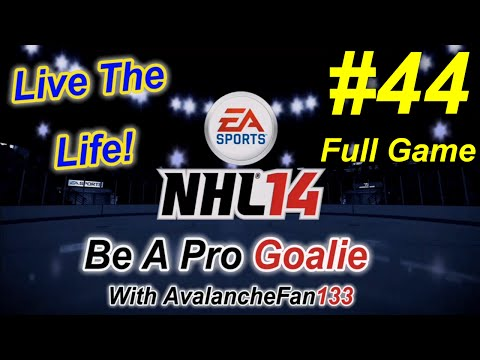 NHL 14 - Be A Pro - Goalie - Episode 44: Game 42 of My 5th Season *Full Game*