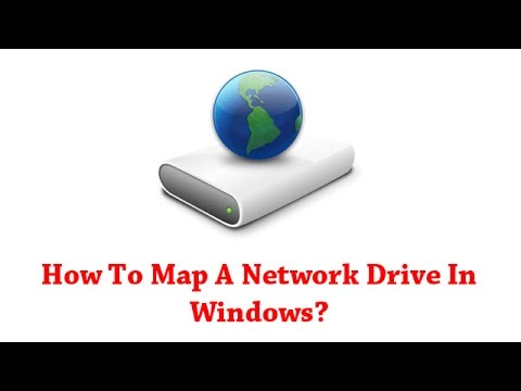How To Map A Network Drive In Windows?