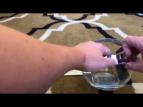 How to Make a Disco Ball Vase, with mirror tiles; As Seen on