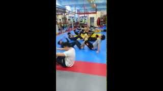 K Club Skinny Muay Thai Conditioning! 케이클럽스키니 체력 운동