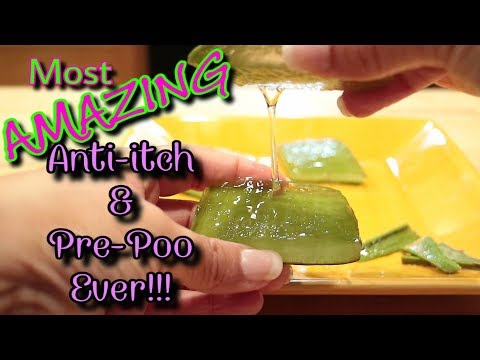 💥POWERFUL PLANT! | Aloe Vera Gel: Hair Growth, Itchy Scalp and Pre-Poo | All-In-One