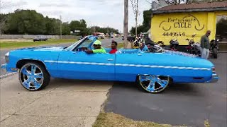 Blue/Pink Box Chevy Caprice CLassic LS on 26