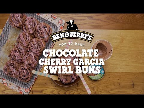 Chocolate Cherry Garcia Swirl Buns | Ben & Jerry's