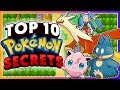 Top 10 SECRETS in the Pokémon Games!