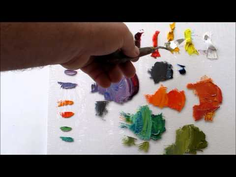 How to Mix Color:Oil Painting: Warm or Cool Colors