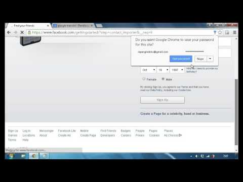 How to create fb account || use Gmail