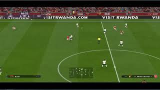 Trực tiếp Arsenal vs Tottenham hotspur PES Premier league 201-2020