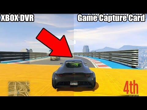 Xbox DVR Vs $250 Capture Card! QUALITY + AUDIO Comparison!