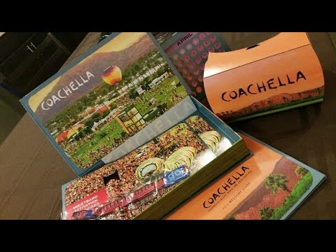 Coachella 2016 Ticket Package Unboxing
