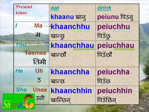 Part 5. Nepali Language - Verbs.