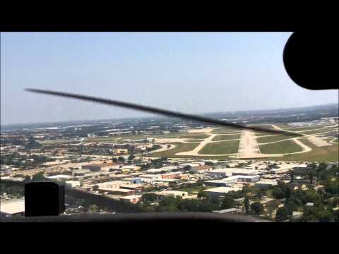Landing at Fort Myers, Florida Cessna 172