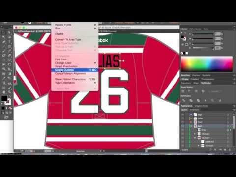 Hockey Jersey Concept (Speed Art) - Dylan Nowak