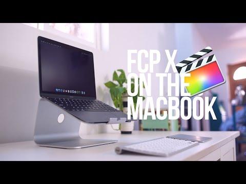 FCPX on the 2015 MacBook Retina 12