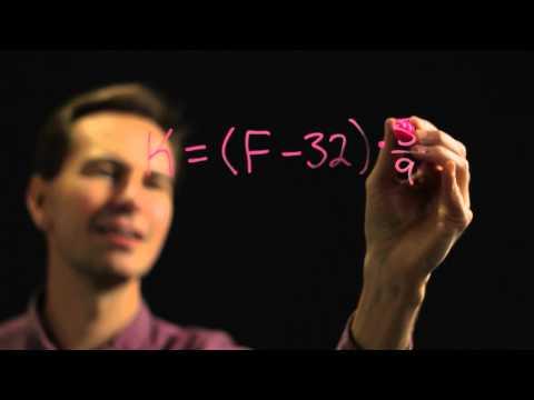 How to Convert Fahrenheit to Kelvin Exactly : Physics & Math