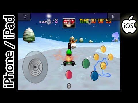 Mario Kart 64   Happy Chick Emulator   iPhone / iPad / iOS [1080p]   Nintendo 64