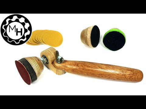 Homemade Spinning Bowl Sander