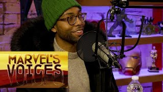 How Jeremie Harris Discovered Acting – Marvel's Voices podcast