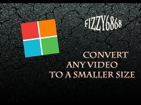 convert video files to smaller size for free