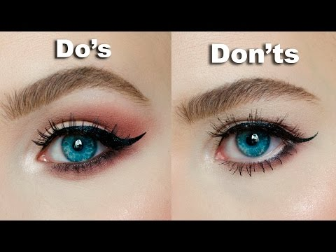 DO's & DON'Ts for Hooded, Downturned eyes │MARIA ALEXANDRA