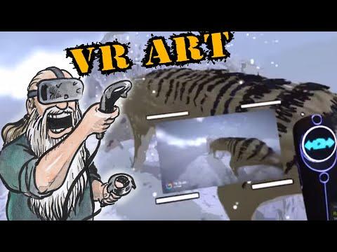 Using VR Art to design 2D Art, Tiltbrush, Gravity Sketch