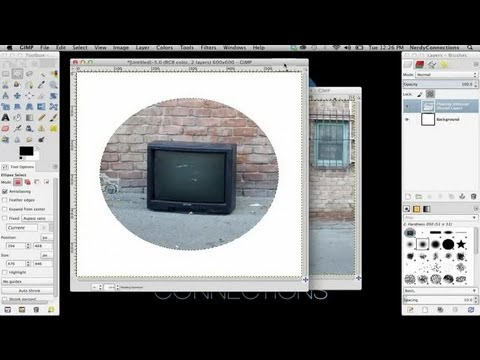 How to Crop a Circle Out of a Picture in GIMP : Digital Imaging & Graphic Design