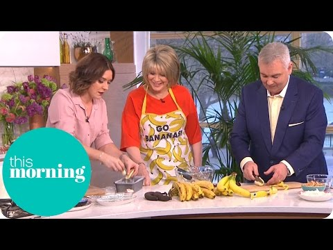 Candice Brown's Seriously Simple Chocolate and Banana Loaf | This Morning
