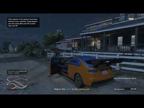 GTA Online Motorcycle Club Mission POW #3