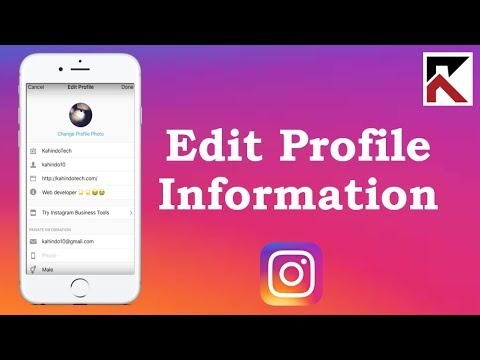 How To Change Instagram Name, Username, Bio, And Email