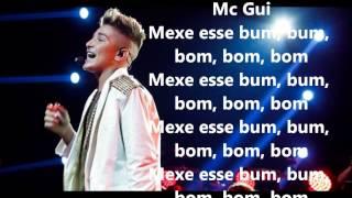 Mc Gui Bum Bom Letra