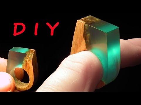 How to make Secret Wood Ring Blue