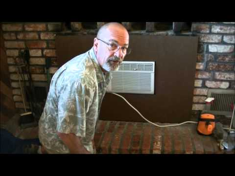 Install Air Conditioner in Fireplace -