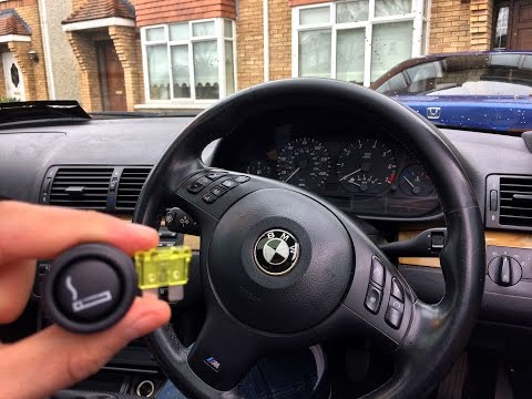 How to fix E46 Cigarette Lighter (Blown fuse) Easy fix