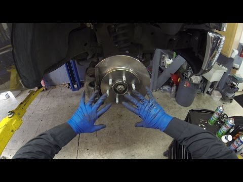 How to replace front brakes 2007 Ford F150