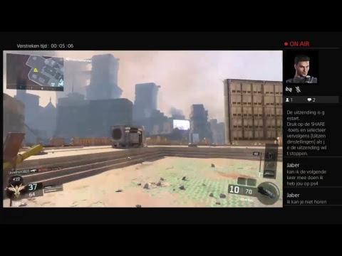 Live PS4-uitzending van maximvantomme1