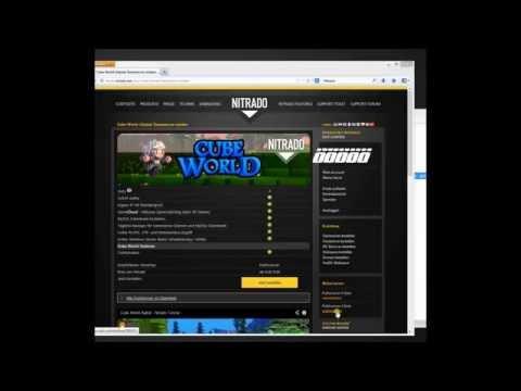 Cube World Nitrado Server Cracked erstellen 24/7