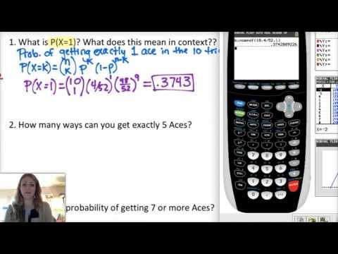 AP Statistics: 6.3.1 Binomial Random Variables