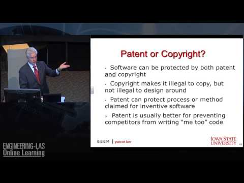 Intellectual Property/Patents for Engineers & Managers - Chicago Attorney Rich Beem at Iowa State