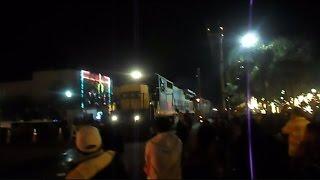 CSX Train Plows Through Christmas Parade Leaving Santa Claus Behind