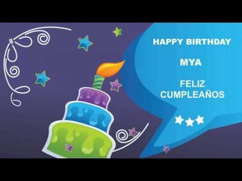 MyaMaya like Maya   Card Tarjeta149 - Happy Birthday