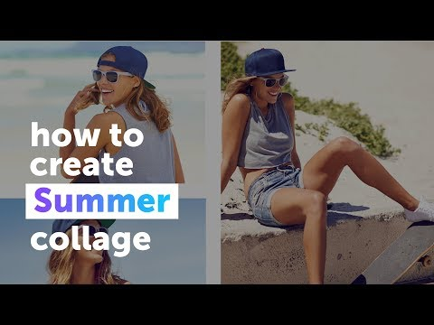 PicsArt Summer Photo Collage Tutorial